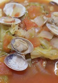 まろやか味☆海鮮と野菜の具沢山スープ