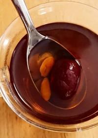 貧血、冷え性に紅棗茶