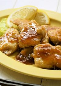 簡単♪鶏胸肉のマーマレード照り焼き