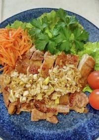 タレが美味しい♪鶏もも肉の簡単ソテー♪