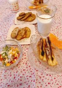 フレンチトースト♡朝食♡覚書、記録です