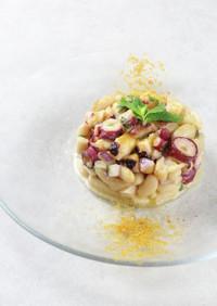 タコと白いんげん豆のサラダ シチリア風