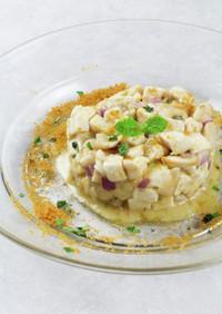 カジキマグロと白いんげん豆のサラダ