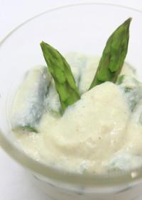 春の味★アスパラサラダ 豆腐ソース付き