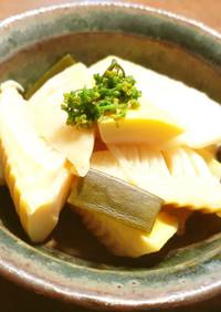 発酵筍の煮物  メンマの香り