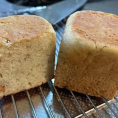 HMで簡単バナナヨーグルトパン♪発酵なし