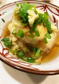 ゆかりのイブクロ  揚げ出し豆腐