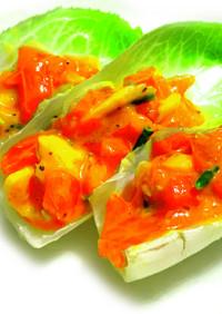 ダイエット美容♡チコリのフィンガーサラダ