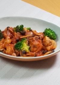 【美人レシピ】鶏のトマト煮