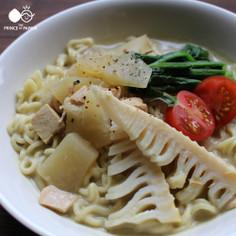 青パパイアマイルドグリーンカレー麺