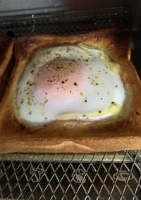 おかずパン 目玉焼き ハム