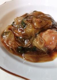 鶏とレタスの炒め物feat.青椒肉絲の素