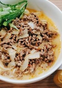 ガチで冷やし坦々素麺