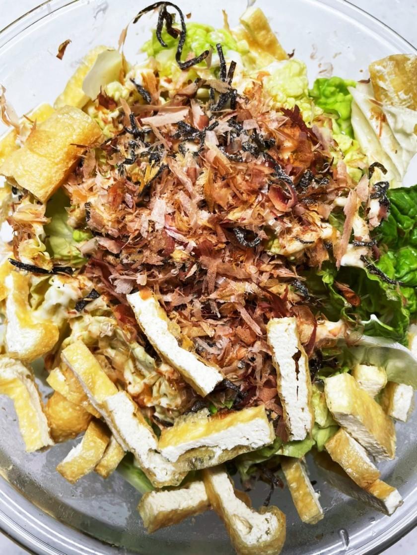 めんつゆとマヨネーズの和風白菜サラダ