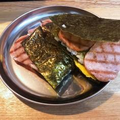 スパムたたみ飯(たたみ寿司)