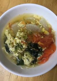 具だくさん!野菜スープ