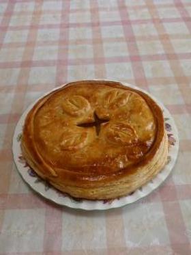 アップルパイ(パイ皿不要・手作り生地)
