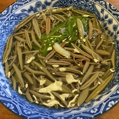 じゅん菜とめかぶの酢の物