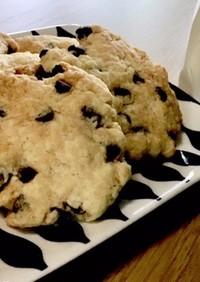 ザクザク!簡単チョコチップクッキー