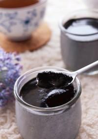イソフラボンたっぷり♡豆腐の黒ごまプリン