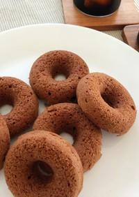 卵なし*薄力粉で作る*簡単焼きドーナツ