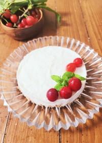 簡単♪レアチーズ風レアヨーグルトケーキ