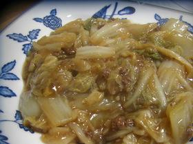 白菜とひき肉のトロトロ煮