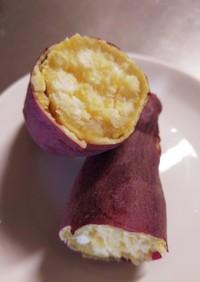 ほくほくレンチン焼き芋・簡単