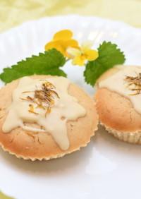 米粉のたんぽぽカップケーキ