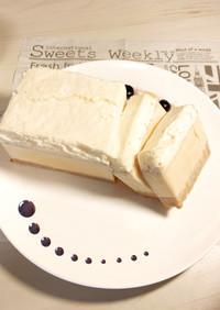 【簡単】濃厚ミルクプリンのケーキ