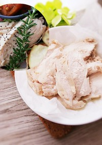 【時短レンチン】鶏むねハム*サラダチキン