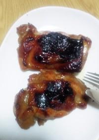 鶏の照焼1(基本のトースター焼)