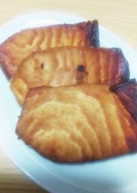 カジキマグロの照り焼き(トースター焼)