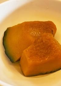 離乳食完了期 レンジでかぼちゃの煮物