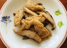 スライス干し椎茸と油揚げの含め煮
