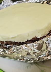 簡単マシュマロレアチーズタルト