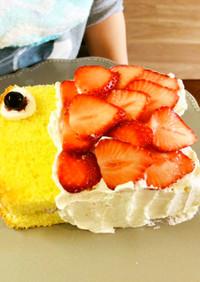 こどもの日に♪子供と作る鯉のぼりケーキ