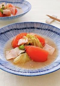 【家つま】麺つゆBLT♪