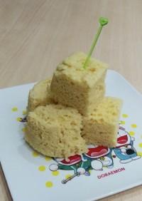スフレチーズケーキ風おから蒸しパン