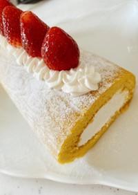 米粉のロールケーキ♡グルテンフリー