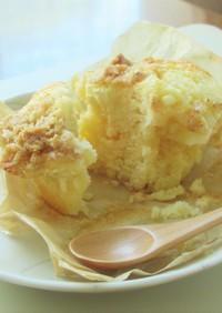 レモンヨーグルトチーズクランブルマフィン
