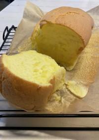 パウンドケーキ型で作る台湾カステラ