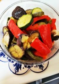 夏野菜の焼きマリネ