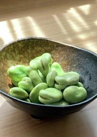 レンジで簡単♡そら豆の美味しい食べ方♡