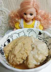リカちゃん♡真鯛のたまご 白子煮付け*。