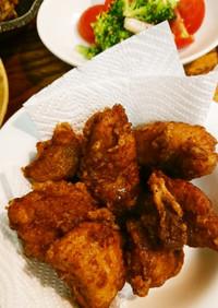 お弁当の鶏唐揚げ