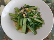 簡単!小松菜の洋風炒めの写真