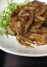 簡単☆豚の生姜焼き