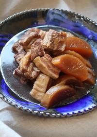 豚の角煮と大根