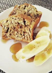 HMで簡単バナナのパウンドケーキ